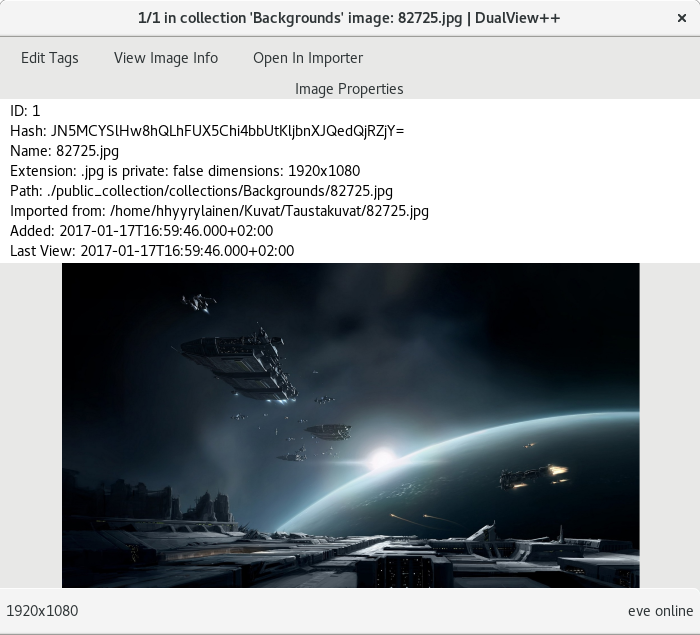 DualView++ image viewer screenshot